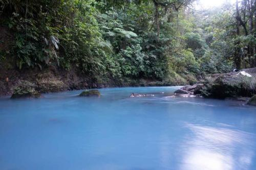 Rio Celeste natural swimming pool